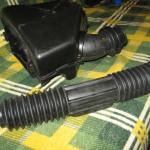 Короб с патрубком и пыльник рулевой рейки ВАЗ 2108.