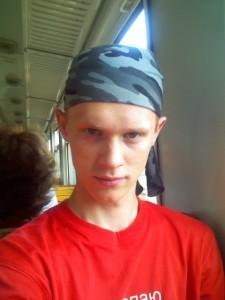 Я в поезде
