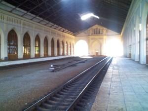 Вокзал ЖД в Петергофе