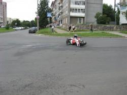 FZR 400 RR, авария
