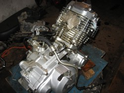 Двигатель XT600E