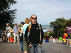 Потёмкинская лестница, морской вокзал